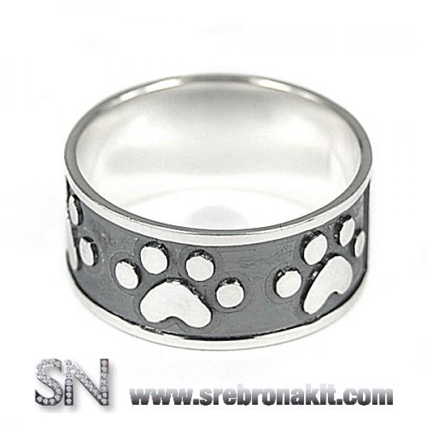 Srebrni prsten - sapa