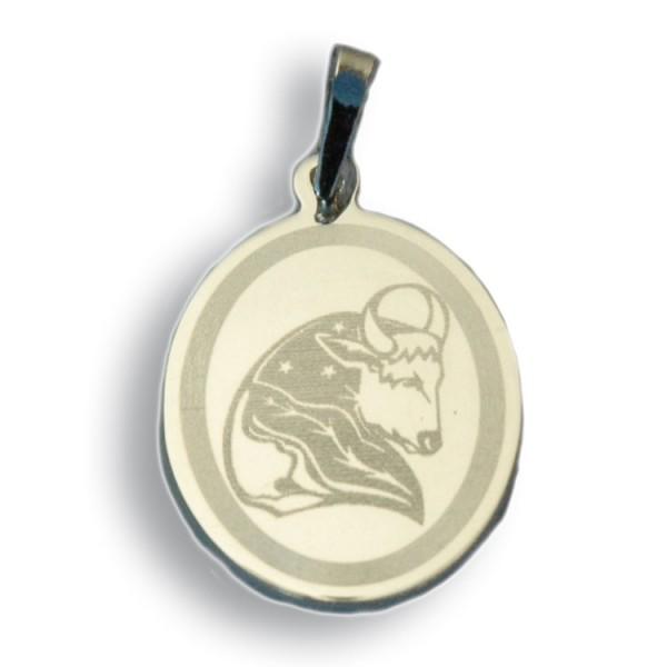 """Horoskopski znaci - znak """"Bik"""" - srebrni medaljon"""