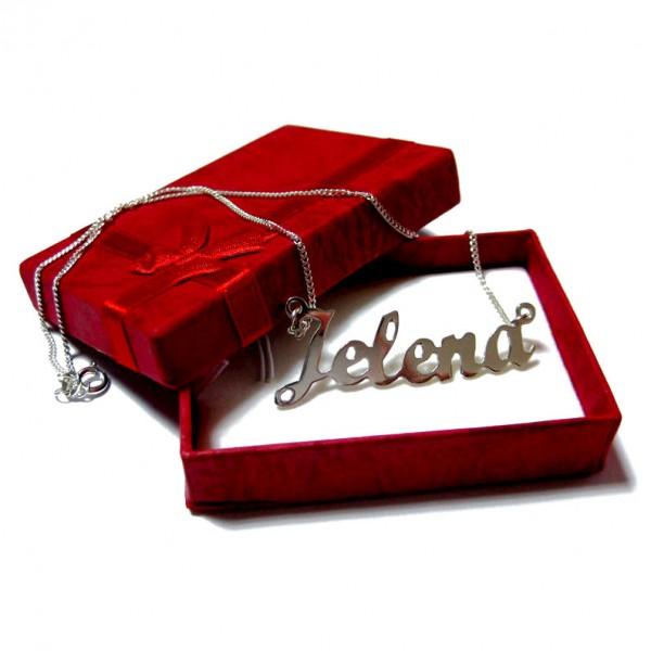 Lančić sa imenom - savršen poklon od srebra!