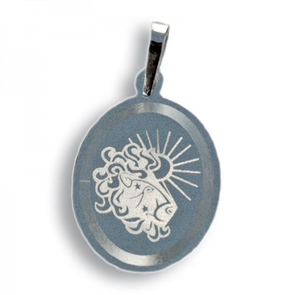 """Horoskopski znaci - znak """"Lav"""" - srebrni medaljon"""