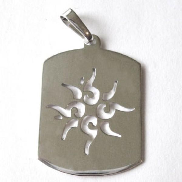 Muški medaljon - 02 - tribal