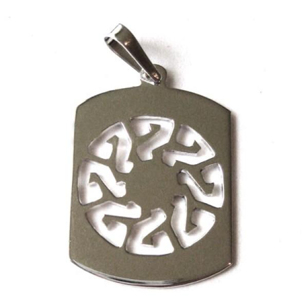 Muški medaljon - 03 - tribal