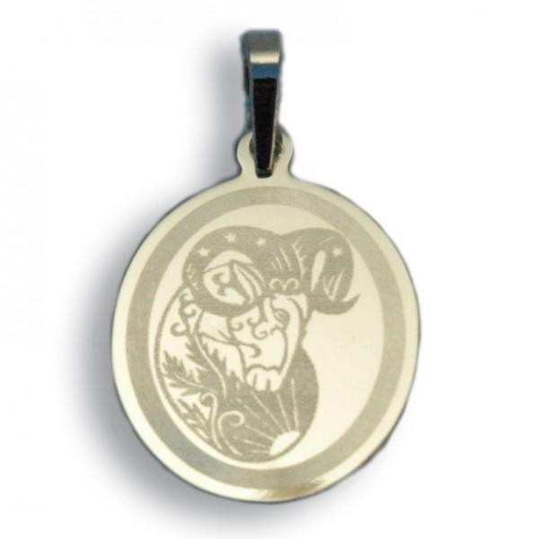 """Horoskopski znaci - znak """"Ovan"""" - srebrni medaljon"""