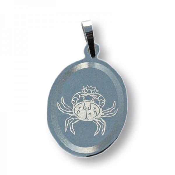 """Horoskopski znaci - znak """"Rak"""" - srebrni medaljon"""