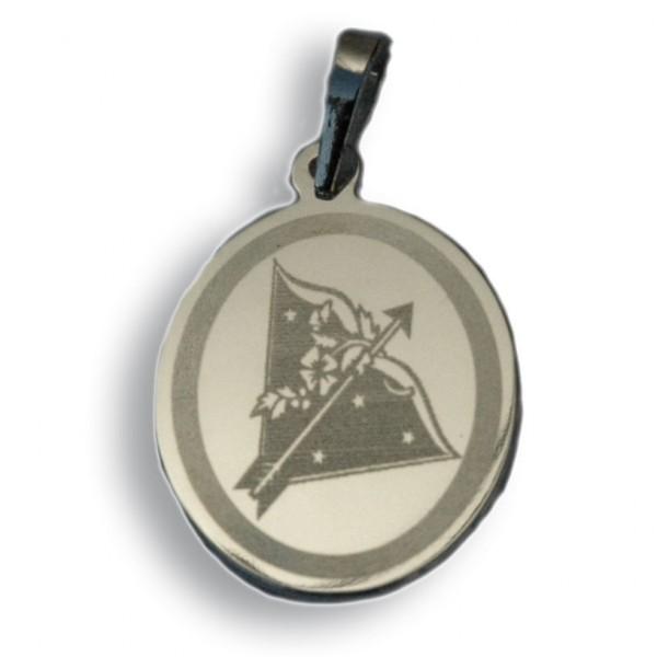 """Horoskopski znaci - znak """"Strelac"""" - srebrni medaljon"""
