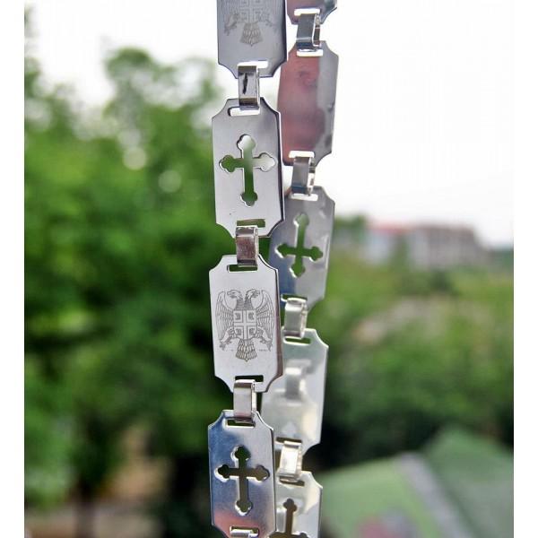 srebrne kajle - model 02